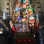 川端商店街の山笠 福岡の夏の風物詩飾り山