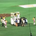 ソフトバンクホークス ヤフオクドームでビールを飲みながら野球観戦 福岡市中央区