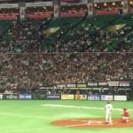 「世界野球WBSCプレミア12強化試合 日本代表VSプエルトリコ代表」ヤフオクドームで侍ジャパンの野球観戦【福岡市中央区】