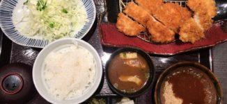 「濱かつ」ご飯とキャベツおかわり自由の美味しいとんかつ屋さん【福岡市中央区】