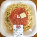 たっぷり明太子の大盛りスパゲティ (しそ風味) セブンイレブン