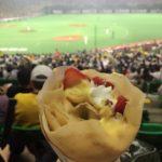 「ディッパーダン」ヤフオクドームで食べれるクレープ【福岡市中央区】