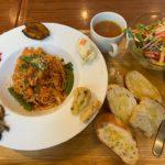 「メルカートラパンドール」警固のパン屋さんで安くて美味しいパスタランチ【福岡市中央区】