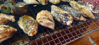 「正栄」船越漁港のジャンパー貸し出し有りの美味しい牡蠣小屋【糸島市】
