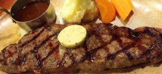 ロイヤルホスト ファミレスのステーキ