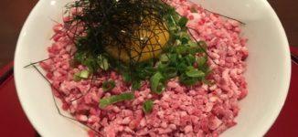 「グルマン」熊本市内で食べる馬肉ランチ【熊本市中央区】